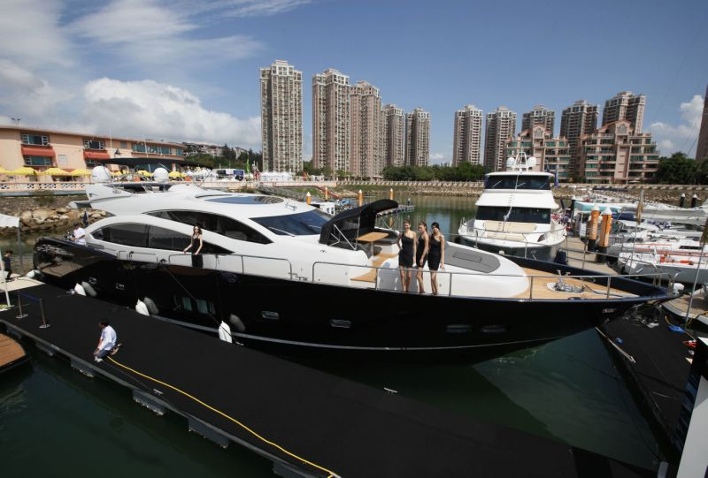 China sunseeker superyacht